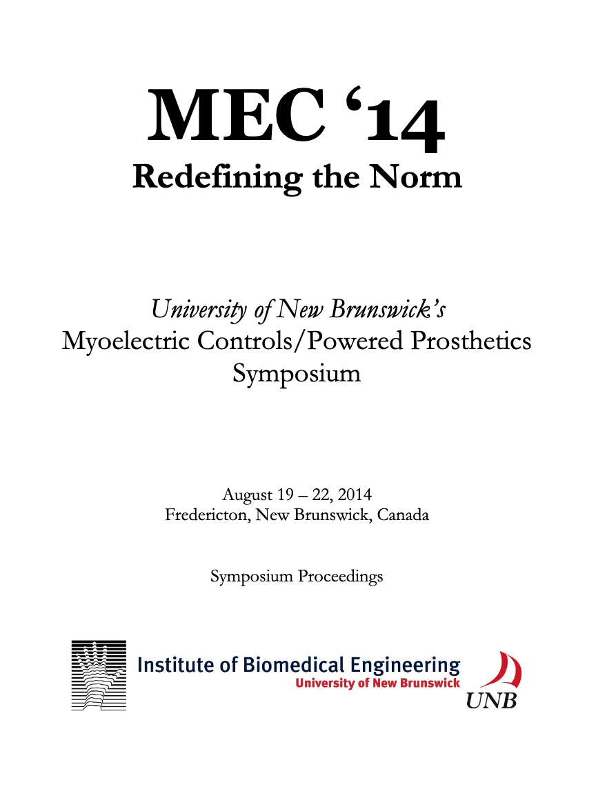 View 2014: MEC 14: Redefining the Norm